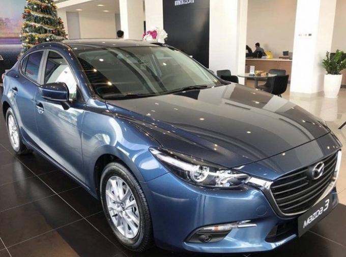 Dòng Thaco-Mazda có doanh số bán xe là 2.025 chiếc, giảm 16% so với tháng 7/2018