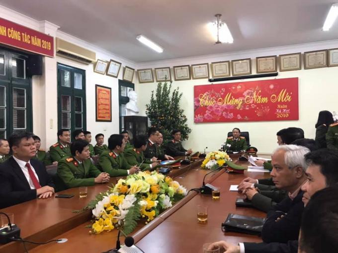 Công an Hà Nội thông tin về vụ nghi phạm sát hại tài xế taxi.