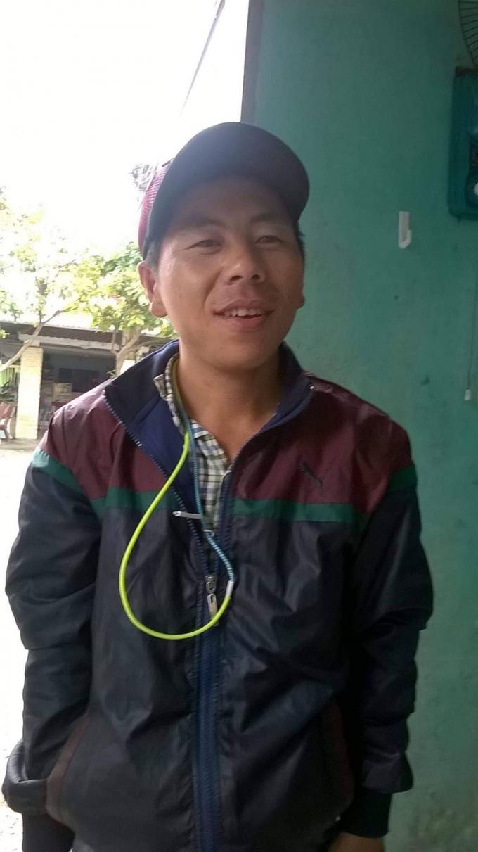 Đối tượng Ông Văn Tuấn. Ảnh: Công an TP Đà Nẵng.