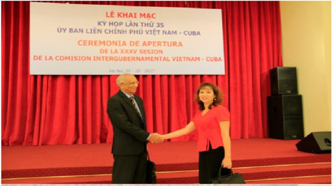 Lãnh đạo HT Pharma và Đại diện Tập đoàn Labiofam tham dự Kỳ họp 35 UBLCP Việt Nam Cuba.