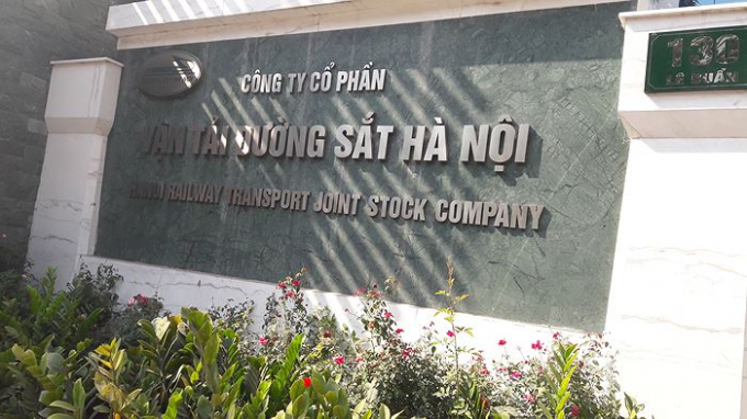 Trụ sở Công ty CP vận tải Đường sắt Hà Nội.