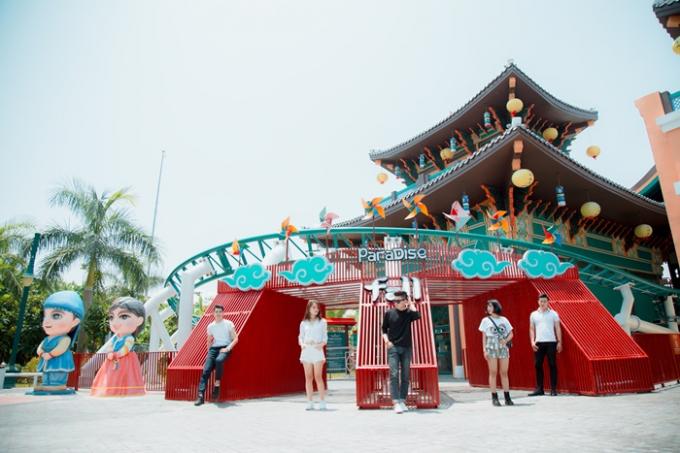 Lộ diện Paradise Fall siêu hấp dẫn chờ đón du khách ở Đà Nẵng