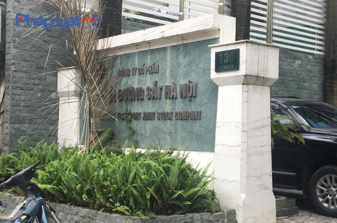 Trụ sở Công ty Cổ phần vận tải Đường sắt Hà Nội,