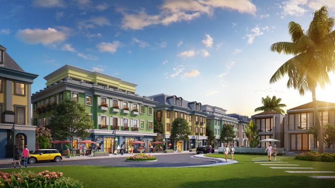 Boutique Shophouse nằm trong quần thể nghỉ dưỡng Sun Premier Village Ha Long Bay.