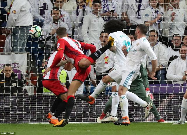 Girona cho thấy họ cũng là một đối thủ khó chơi. (Nguồn: Reuters)
