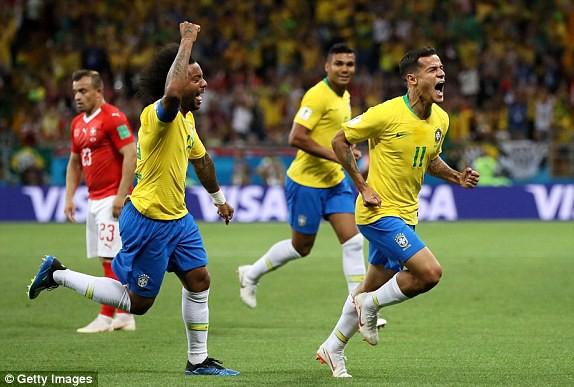 Brazil có trận hòa đáng thất vọng ở ngày ra quân. (Ảnh Getty Images)