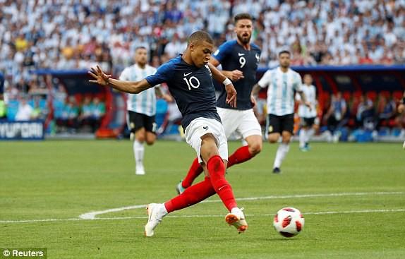 Hàng công của đội tuyển Pháp được đánh giá rất mạnh. (Ảnh: Reuters)