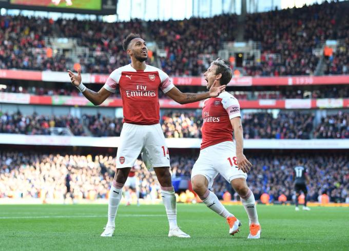 Arsenal đã có trận đấu bùng nổ. (Ảnh: Getty Images)