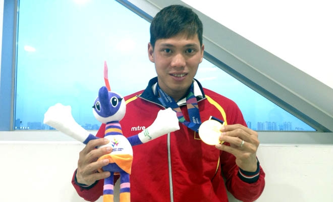 VĐV Võ Thanh Tùng (Bơi lội). Ảnh: Internet