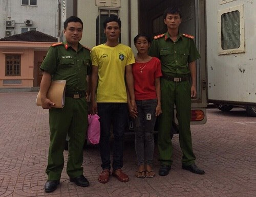 Hai đối tượng Toán và Búa đã bị bắt giữ sau đó.
