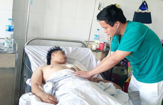 Hiện tại sức khỏe của nam bệnh nhân đã dần hồi phục.
