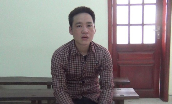 Trương Văn Quang tại tòa. (Ảnh: Báo Nghệ An).
