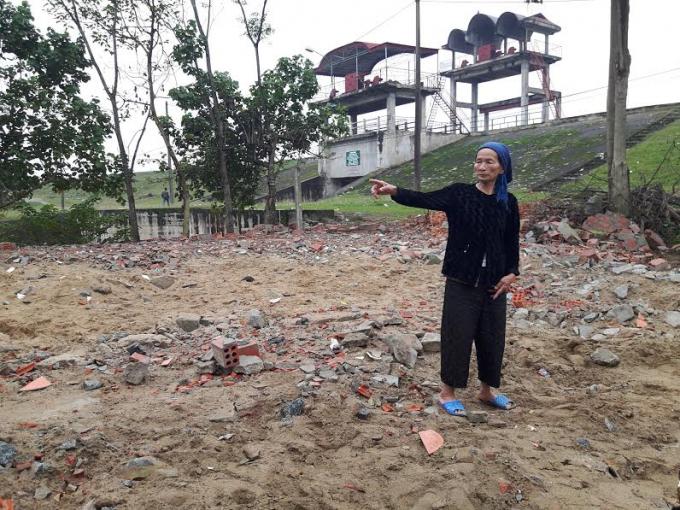 Hà Tĩnh: Khiếu nại chính quyền địa phương vì bị cưỡng chế phá dỡ nhà