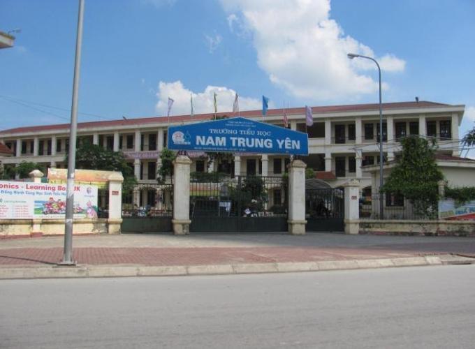 Trường Tiểu học Nam Trung Yên.