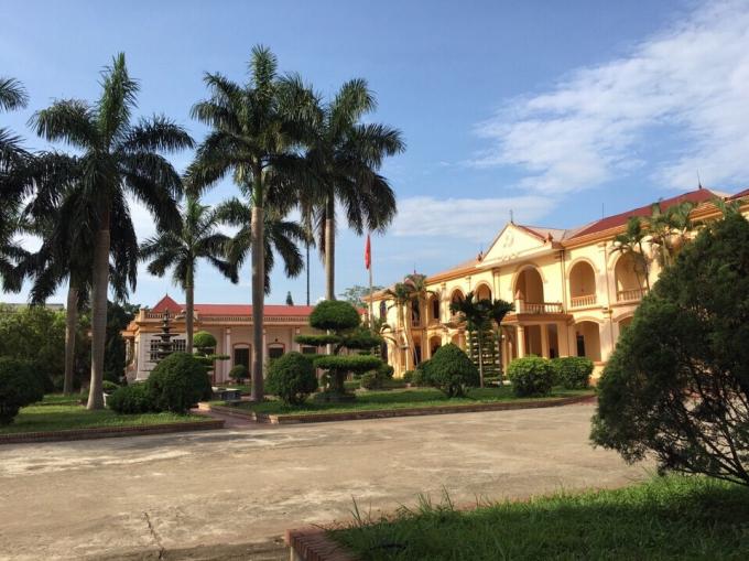 Trụ sở Huyện ủy Tân Lạc, Hòa Bình.