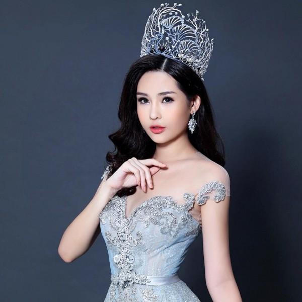 Hoa hậu Lê Âu Ngân Anh.