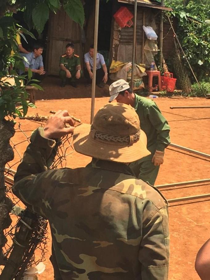 Nhà bà Phạm Thị Thu và ông Trần Minh Châu nơi xảy ra vụ án vợ đánh chết chồng.