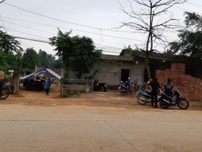 Ngôi nhà nơi bé trai 8 tuổi bị sát hại dã man. Ảnh: Ph. Hùng