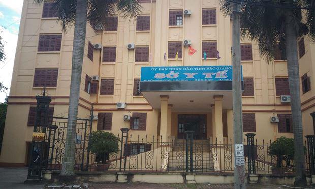 Sở y tế tỉnh Bắc Giang.