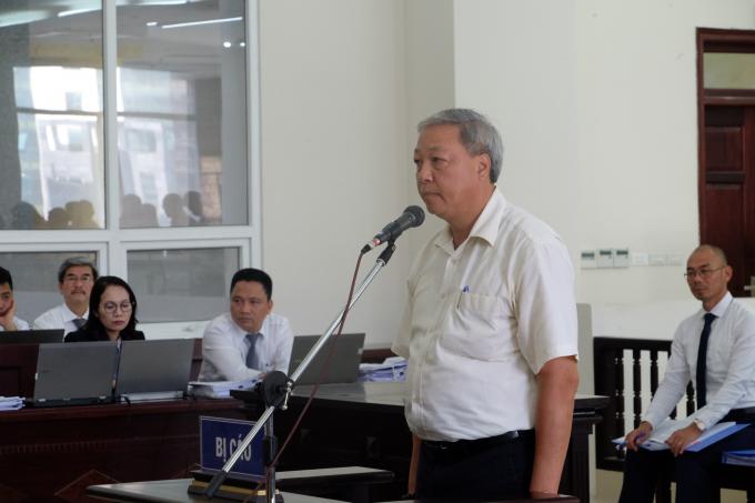 Bị cáo Phan Đình Đức tại tòa.