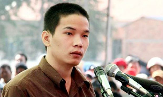 Tử tù Vũ Văn Tiến.