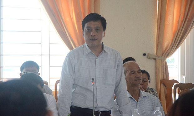 Ông Đào Tấn Bằng-nguyên CVP Thành ủy Đà Nẵng.