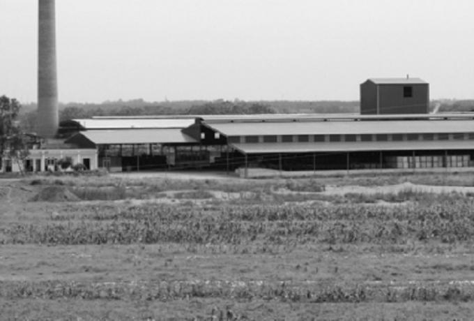 Nhà máy gạch của Công ty CP gạch Đại Hoàng.