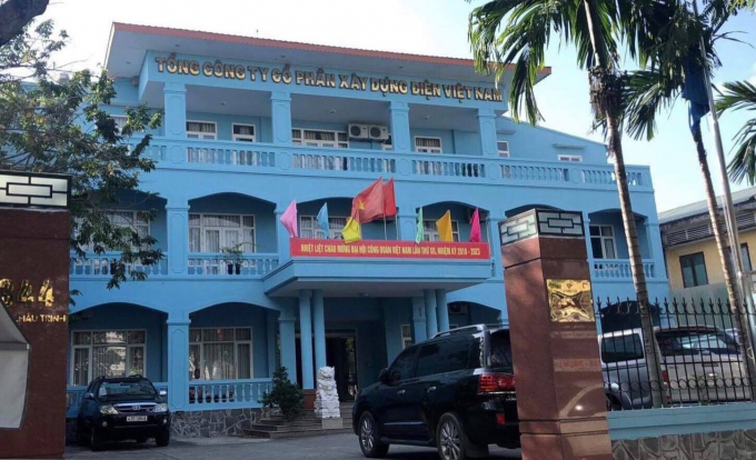 Trụ sở Công ty cổ phần xây dựng điện Việt Nam.