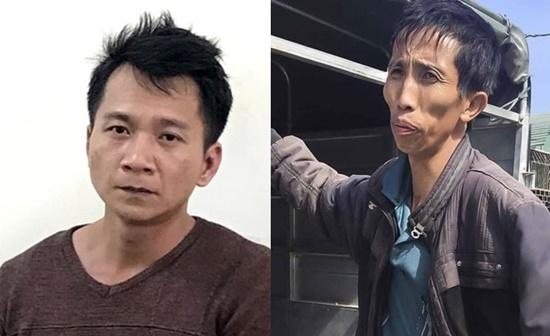 Hai đối tượng Vương Văn Hùng và Trần Văn Công.