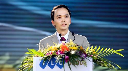 Ông Trịnh Văn Quyết, Chủ tịch HĐQT Tập đoàn FLCvừa công bố nghị quyết thành lập Công ty TNHH Hàng không Tre Việt với vốn điều lệ 700 tỷ đồng. Ảnh Internet.