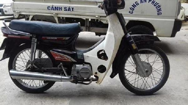 Công an phường Cống Vị thông báo tìm chủ sở hữu chiếc xe máy Dream II.
