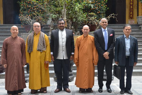 Đại diện giữa 2 nước mong rằng trong tương lai, Phật giáo giữa hai nước có sự phát triển, quan hệ, trao đổi, mật thiết, vững chắc hơn nữa.