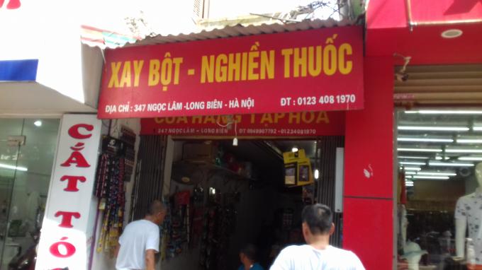 Số 347 đường Ngọc Lâm, phường Ngọc Lâm, Long Biên, Hà Nội.