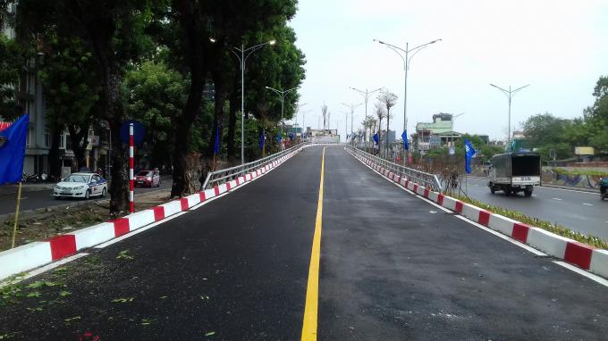 Dự án có tổng mức đầu tư hơn 311 tỷ đồng, gồm các hạng mục cầu vượt nút giao An Dương - Thanh Niên dài 271m, rộng 10m.