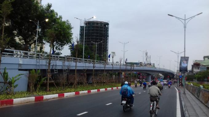 Hà Nội: Chính thức thông xe cầu vượt An Dương - Thanh Niên