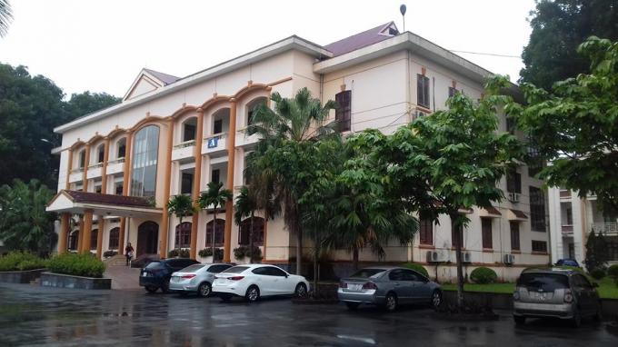 Trụ sở UBND Thành phố Sông Công.