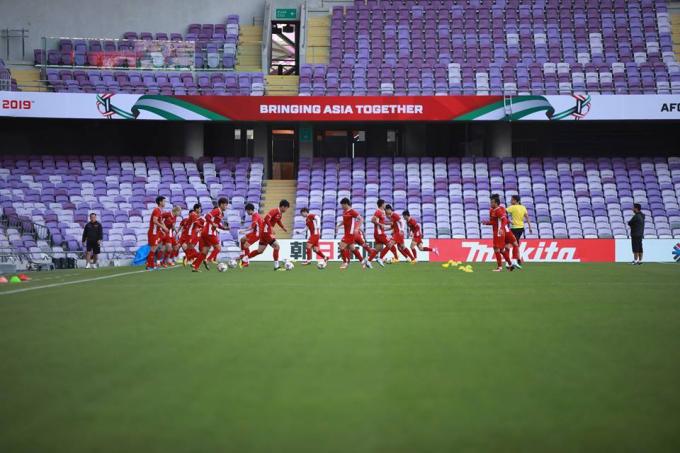 Tuyển Việt Nam sẽ ra sân với đội hình