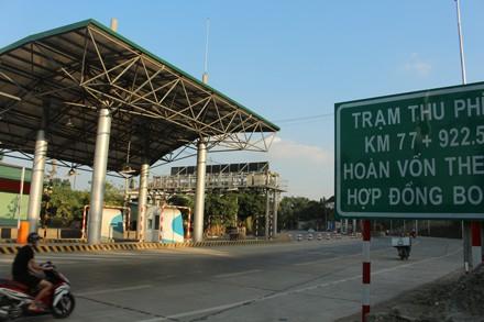 Trước đó tỉnh Thái Nguyên cũng thống nhất với đề xuất của Bộ Giao thông Vận tải đặt 1 trạm thu phí chính trên tuyến Thái Nguyên-Chợ Mới (Bắc Kạn) và 1 trạm thu phí phụ đặt trên Quốc lộ 3 cũ (trạm Bờ Đậu).