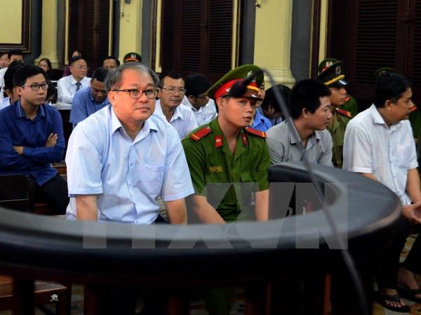 Bị cáo Phạm Công Danh tại phiên tòa phúc thẩm ngày 27/12/2016. (Ảnh: Mạnh Linh/TTXVN).