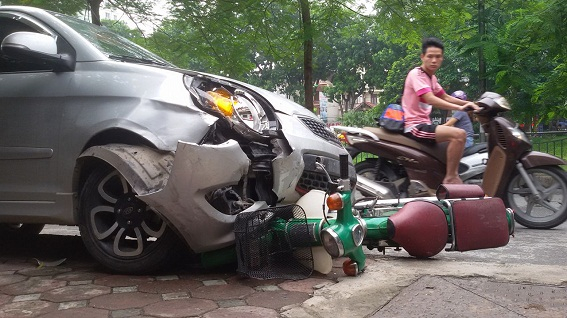 Năm 2016 đã giảm được 1.261 vụ tai nạn giao thông. Ảnh: T.A.