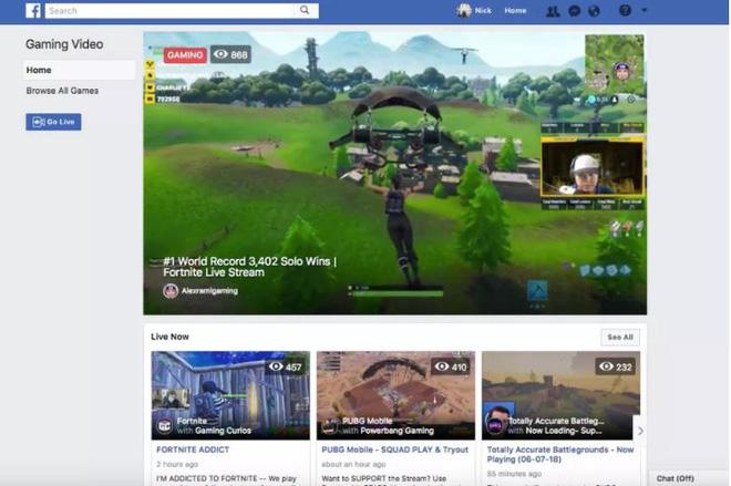 Fb.gg là một nền tảng mới chỉ dành riêng để livestream game ngay trên Facebook.