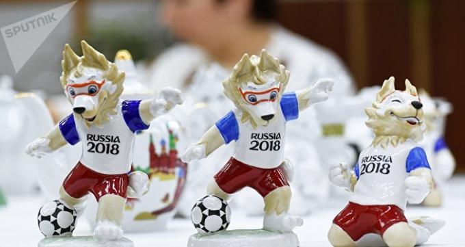 Ngắm linh vật cực đáng yêu đồng hành World Cup 2018