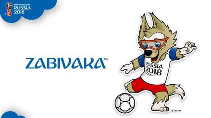Linh vật của World Cup 2018 là chú sói nâu Zabivaka.