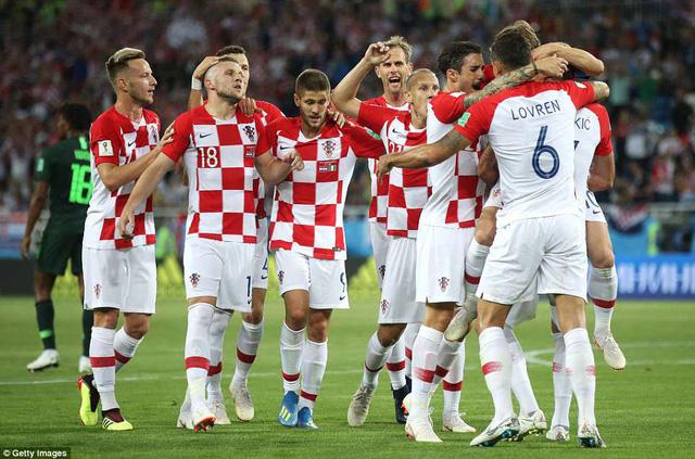 Croatia là đội bóng đầy bản lĩnh ở sân chơi World Cup