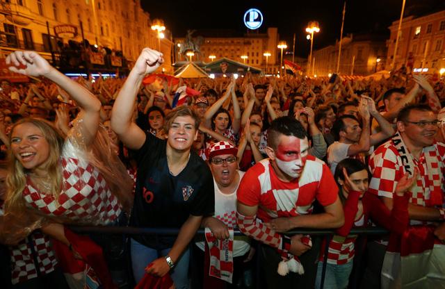 Người Croatia đã sẵn sàng cho chức vô địch World Cup lần đầu tiên trong lịch sử