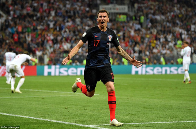 Người hùng Mandzukic với bàn thắng ấn định tỷ số 2-1