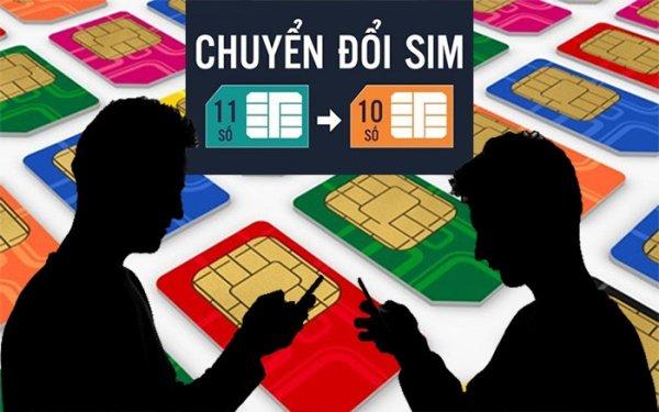 Chuyển đổi SIM 11 số về 10 số sẽ bắt đầu từ 00h00 ngày 15/9/2018 và kết thúc vào 23h59 ngày 30/6/2019. (Ảnh: Báo mới)