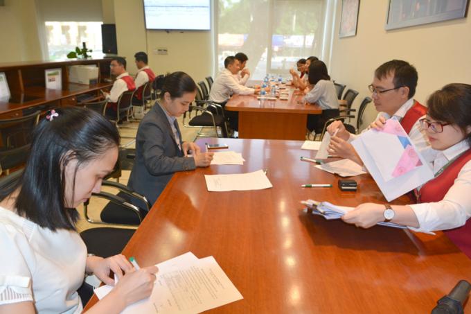 Ngân hàng TMCP Ngoại thương Việt Nam (Vietcombank) vừa tổ chức phiên bán đấu giá thoái vốn 534 tỷ đồng. Ảnh: HNX
