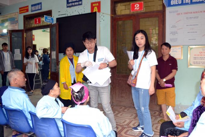 Tổ chức Vison Care phẫu thuật cho bệnh nhân có bảo hiểm y tế tại Hà Giang