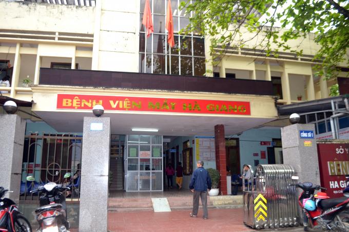 Tổ chức Vision Care đã có 5 ngày làm việc tại bệnh viện Mắt Hà Giang.